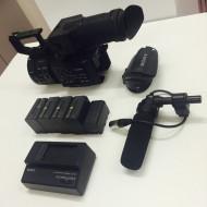 Sony FS700, 4K opgraderet m. 5 x batterier og andet standard udstyr: kr. 37.000,-
